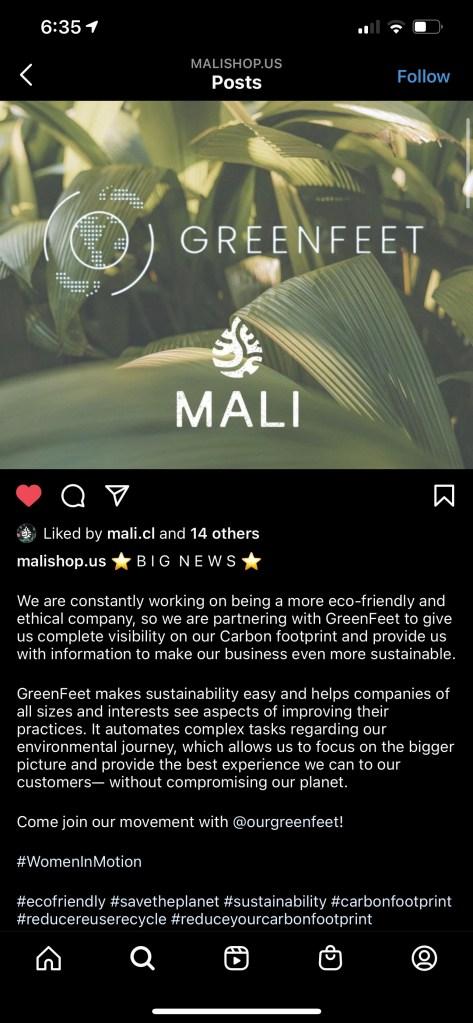 Mali on Instagram